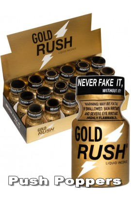 Lockerroom Marketing Poppers RUSH Gold 10 ml