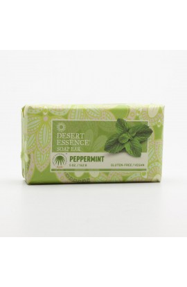 DESERT ESSENCE, RIGID SOAP CREAMY PEPPERMINT, 142 G