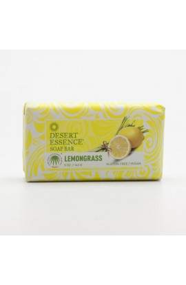DESERT ESSENCE, SOLID SOAP LEMON GRASS, 142 G