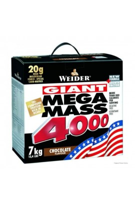WEIDER Giant Mega Mass 4000, Chocolate, 7000 g