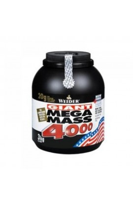 WEIDER Giant Mega Mass 4000, chocolate, 3000 g