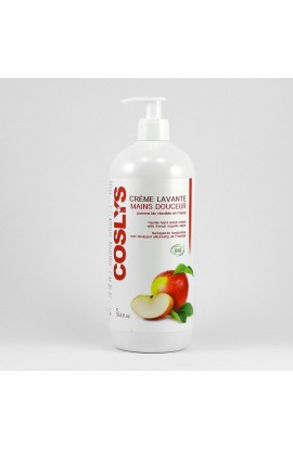 COSLYS, GENTLE WASHING HAND CREAM APPLE, 1000 ML