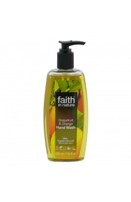 FAITH IN NATURE, LIQUID SOAP GRAPEFRUIT & ORANGE, 300 ML