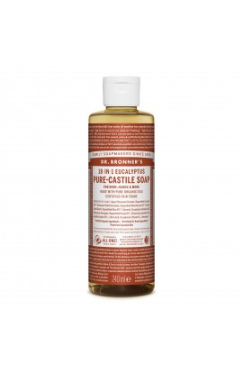 DR. BRONNER'S, LIQUID UNIVERSAL SOAP ALL-ONE!, EUKALYPTUS, 236 ML