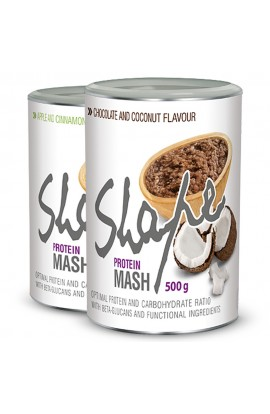 PROM-IN Shape Mash chocolate with coconut, sample, 50 g