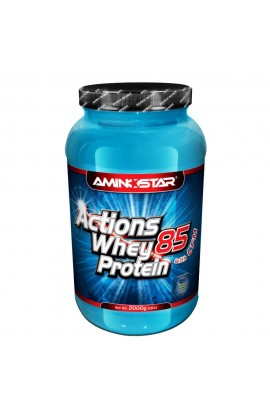 AMINOSTAR Whey protein actions 85% 1000 g, strawberry