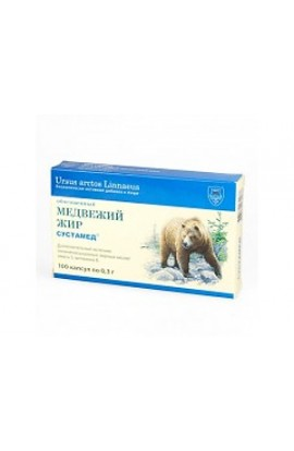 Sustamed Bear oil 100 capsules by 0.3 g
