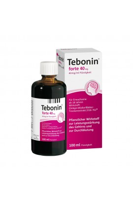 Dr.Willmar Schwabe, Tebonin forte 40mg, 100 ML
