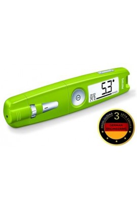 Glucometer BEURER GL 50 green / 3 year warranty