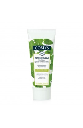 COSLYS, TOOTHPASTE FOR SENSITIVE TEETH AND GUMS MINT, 75 GR