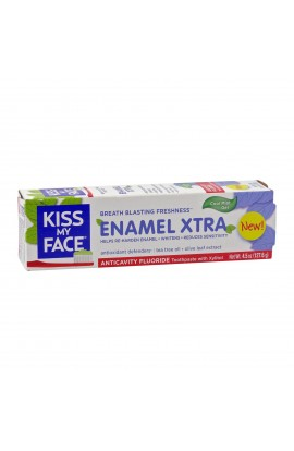 KISS MY FACE, TOOTHPASTE ENAMEL XTRA, 127,6 GR