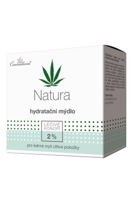 Cannaderm Natural Moisturizing Soap 100g