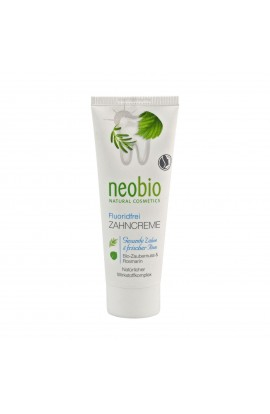 NEOBIO, DENTAL CREAM WITCH HAZEL WITHOUT FLUORIDE, 75 ML