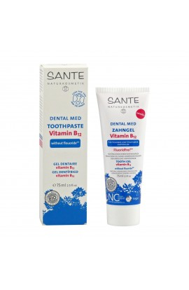 SANTE, DENTAL GEL VITAMIN B12 WITHOUT FLUORIDE, 75 ML