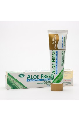 ESI, TOOTHPASTE HOMEOPATIC WHITENING, ALOE FRESH, 100 ML