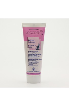 LOGONA, DENTAL GEL ROSEMARY AND SAGE, LOGODENT, 75 ML