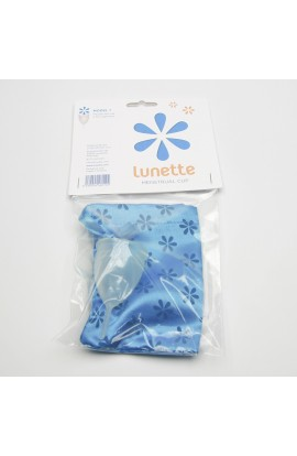 LUNETTE, MENSTRUAL CUP MODEL 1 (SMALL), CLEAR, 1 PC