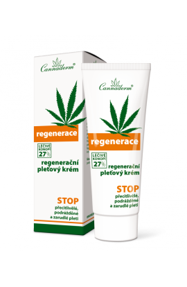 Cannaderm Regenerace regeneration cream 75g