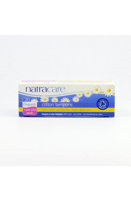 NATRACARE, TAMPONS SUPER PLUS, 20 PIECE