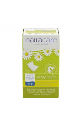 NATRACARE, PANTYLINERS LONG, 16 PIECE