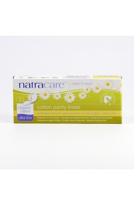 NATRACARE, PANTYLINERS ULTRA THIN, 22 PIECE