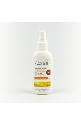 ACORELLE, SUNTAN MILK SPF 50 SPRAY, 100 ML