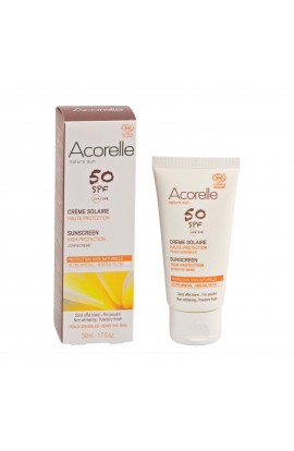 ACORELLE, SUNSCREEN FOR FACE SPF 50, 50 ML