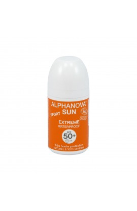 ALPHANOVA, SUNSCREEN LOTION ROLL-ON SPF 50+, 50 G