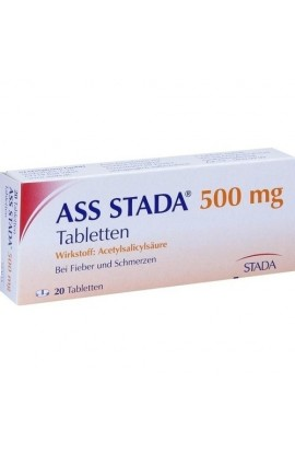 Stada, ASS 500mg Tabletten, (20 tab )