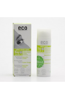 ECO COSMETICS, TONED DAY LOTION SPF 15, 50 ML