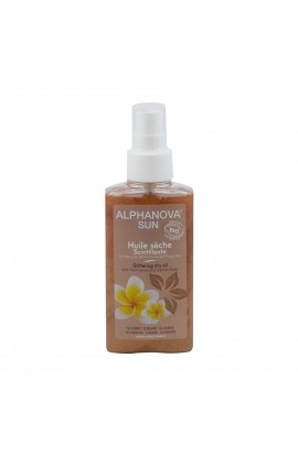ALPHANOVA, CARING OIL GLITTERY, 125 ML