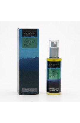FARAN, HERBAL OIL IN SHAVING CREAM FOR VERY SENSITIVE SKIN, 50 ML