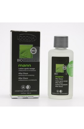 LOGONA, AFTERSHAVE GINKGO AND COFFEIN, LOG MANN, 100 ML