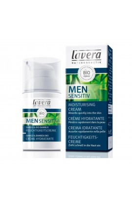 LAVERA, CREAM MOISTURIZING NOURISHING, MEN SENSITIV, 30 ML