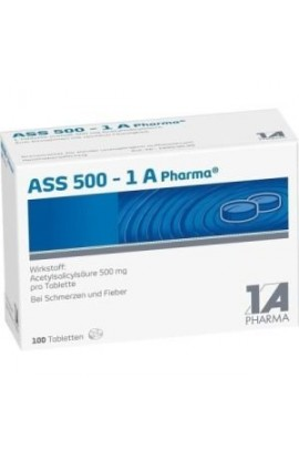 1A Pharma, ASS 500 , (100 tab)