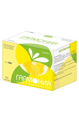 Harmony Drink instant-dry with Biofen Harmony Lemon in bags 200 g