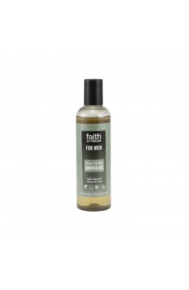 FAITH IN NATURE, SHOWER GEL BLUE CEDAR, FAITH FOR MEN, 250 ML