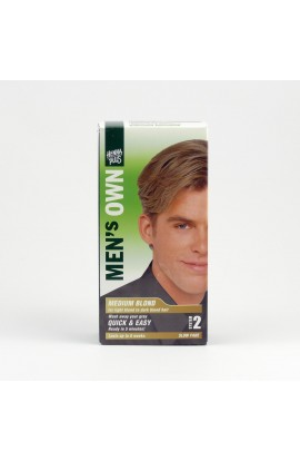 HENNA PLUS, COLOR FOR MEN MEDIUM BLONDE, 80 ML