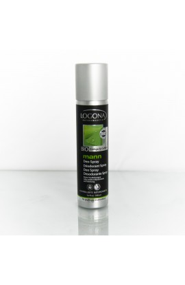LOGONA, DEO SPRAY GINKGO AND COFFEIN, LOG MANN, 100 ML