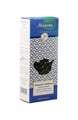 Manana Herbal black tea with thyme 50 g
