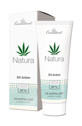 Cannaderm Natura 24 cream for dry and sensitive skin 75g