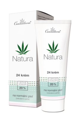 Cannaderm Natura 24 cream for normal skin 75 g