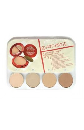 ART-VISAGE Powder Frosted silk for all skin types 4 colors