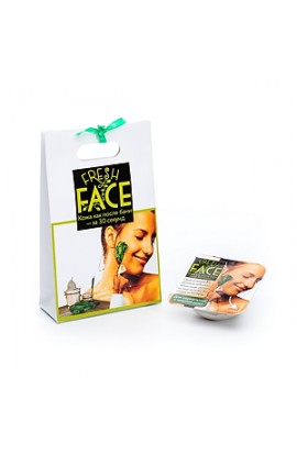 """Biobeauty Scrub """"Fresh Face"""" for normal and oily skin, 3gr."""