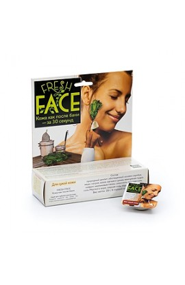 "Biobeauty Scrub ""Fresh Face"" for dry skin, 18 g."