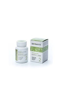 """Biobeauty Biomask for the face """"Biobyuti"""" № 2, Around the eyes, 50 gr."""