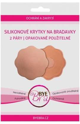 Bye Bra Invisible Silicone labels on nipples