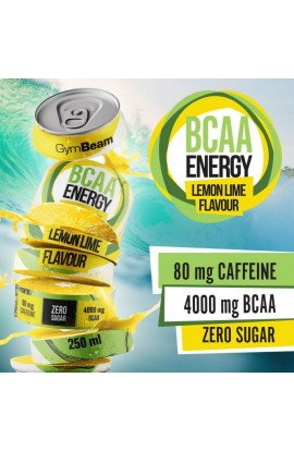 Gymbeam, BCAA Energy drink, 24 x 250 ml