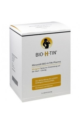 Dr. R. Pfleger, Minoxidil Bio-H-Tin Pharma 20mg/ml Lösung, 3X60 ml