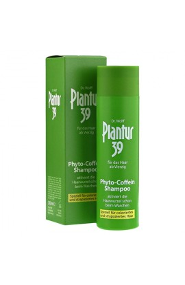 Dr. Wolff, Plantur 39 Coffein-Shampoo Color, 250 ml